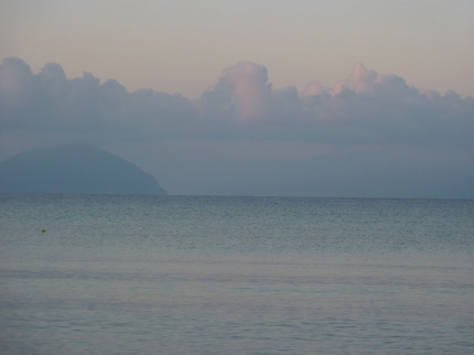 View towards Kefalonia