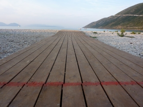 Vassiliki boardwalk