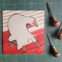Cutting out the main 'dog' block